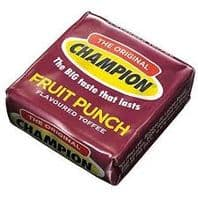 Champion Fruit Punch Flavoured Toffee