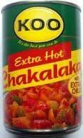 Koo Chakalaka Extra Hot - 410g