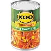 Koo Chakalaka with Sweetcorn - 410g