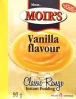 Moirs Vanilla  Pudding