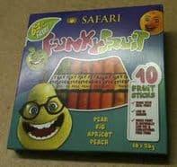 Safari Fruit Sticks (10/box)