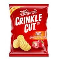Willards Crinkle Cut Tomato Chips - 125g