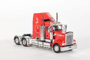 Drake Kenworth  T909 Chrome Rosso Red