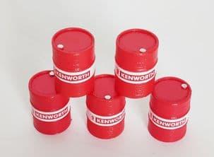 Iconic Replicas  Oil drum set Kenworth