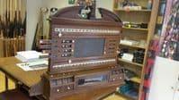 Old Oak Antique Life pool billiard / Snooker score board