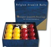 Pro Cup Pool Balls
