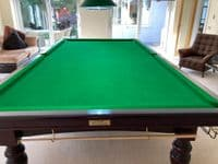 Riley Aristocrat England full size snooker table Steel Backed Cushions