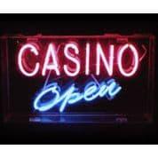 Casino Open Neon Sign