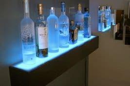 Illuminated Drinks Shelf