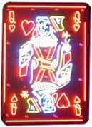 Queen of Hearts Neon Sign (NEON12)