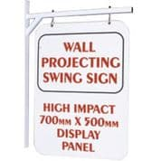 Swing Sign D/S