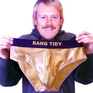 BANG TIDY Underpants | Gold Briefs