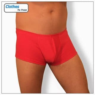 Boxer Shorts - Red - Mens Underwear at Clothes To Pose