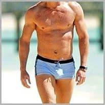 James Bond Swim Costume as worn by Daniel Craig in Casino Royale
