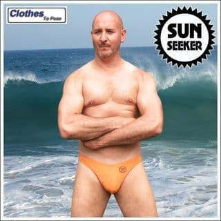 Men's Swim Thong - Sun Seeker - Orange