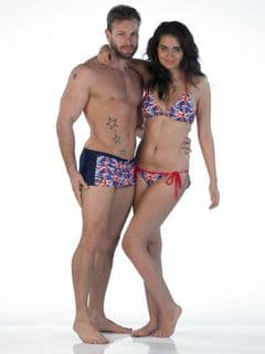 Mix an match swimwear for Him an for Her 
