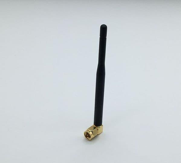 FMWR35309-SM-RA - 868 MHz Whip Antenna SMA-Male RA