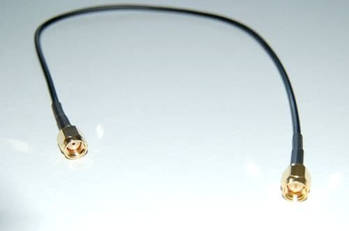 M2MAC-RS-30-SM - RP--SMA Plug to SMA-Male Plug 30cm RG174