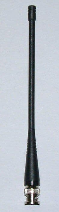 W415-BNC - 415 MHz UHF whip antenna with BNC