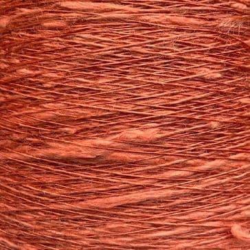 16s Lea Viscose Flax Slub - Coral - 300g cone