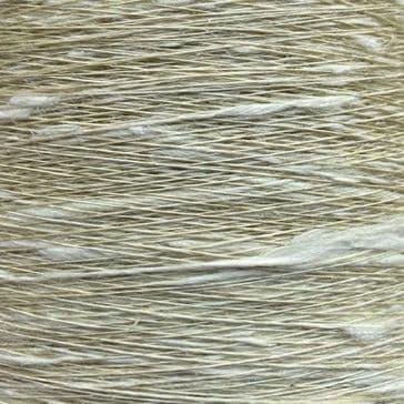 16s Lea Viscose Flax Slub - Lime - 300g cone