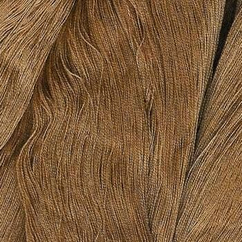 2/40c.c. Gassed, Combed Mercerized Cotton - Dip Dyed Brown - 250g cone