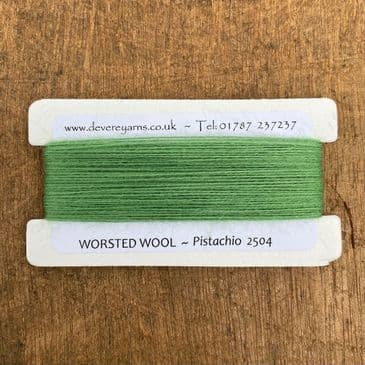 2504 Pistachio - 2/25's Worsted Wool Count - Embroidery Thread