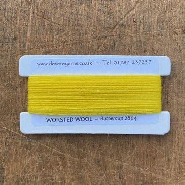 2804 Buttercup - Worsted Wool - Embroidery Thread