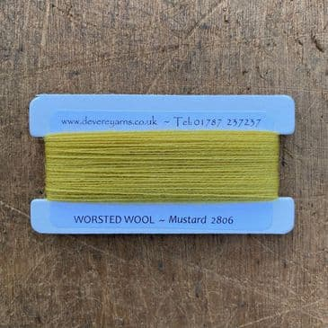 2806 Mustard - Worsted Wool - Embroidery Thread