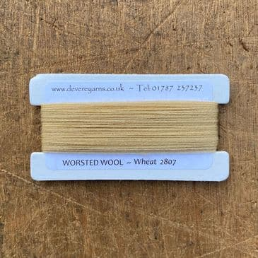 2807 Wheat - Worsted Wool - Embroidery Thread