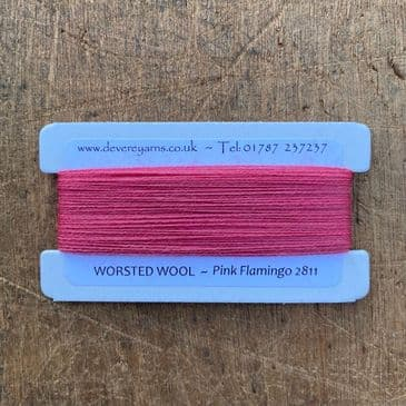 2811 Pink Flamingo - Worsted Wool - Embroidery Thread
