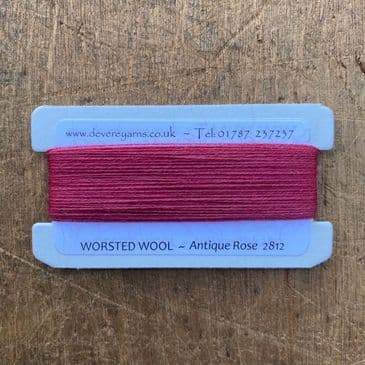 2812 Antique Rose - Worsted Wool - Embroidery Thread