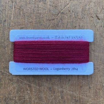 2814 Loganberry - Worsted Wool - Embroidery Thread