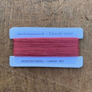 2821 Lobster - Worsted Wool - Embroidery Thread