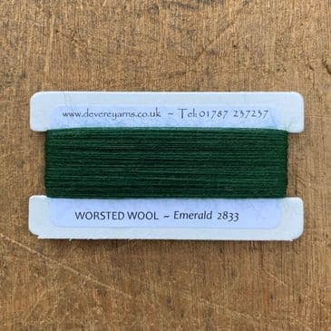 2833 Emerald - Worsted Wool - Embroidery Thread
