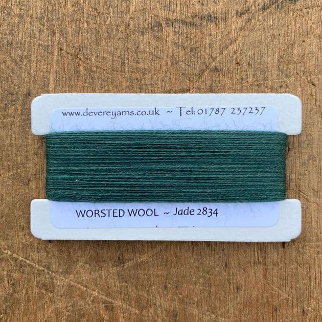 2834 Jade - Worsted Wool - Embroidery Thread