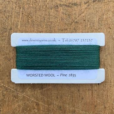 2835 Pine  - Worsted Wool - Embroidery Thread