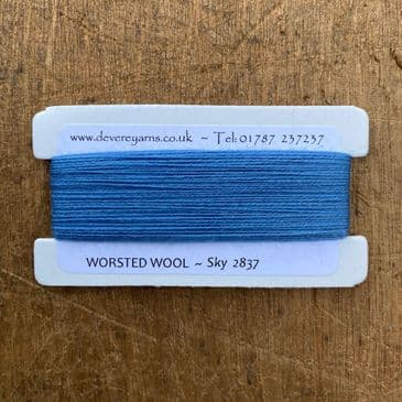 2837 Sky - Worsted Wool - Embroidery Thread