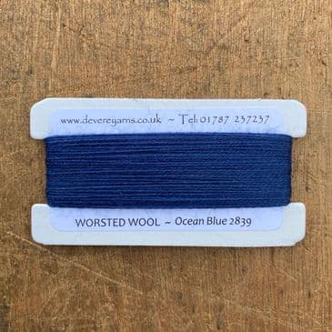 2839 Ocean Blue - Worsted Wool - Embroidery Thread