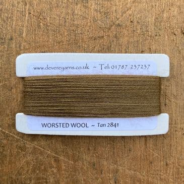 2841 Tan - Worsted Wool - Embroidery Thread