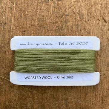 2852 Olive - Worsted Wool - Embroidery Thread