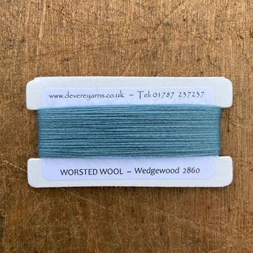 2860 Wedgewood - Worsted Wool - Embroidery Thread