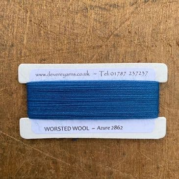 2862 Azure - Worsted Wool - Embroidery Thread