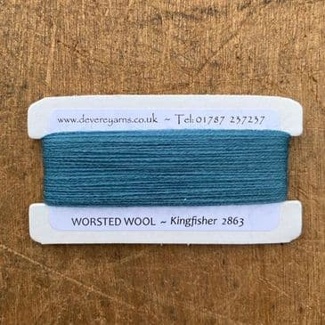 2863 Kingfisher - Worsted Wool - Embroidery Thread