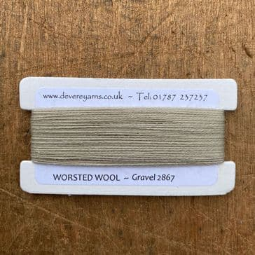 2867 Gravel  - Worsted Wool - Embroidery Thread