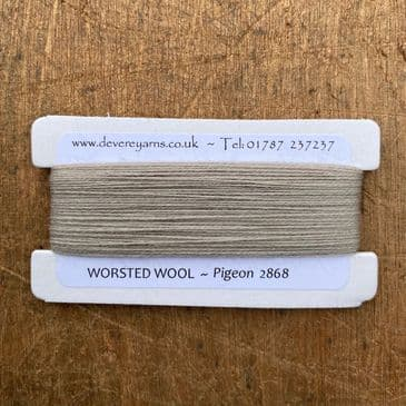 2868 Pigeon - Worsted Wool - Embroidery Thread