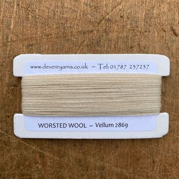 2869 Vellum  - Worsted Wool - Embroidery Thread