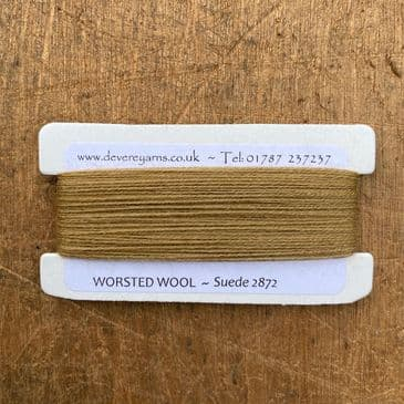 2872 Suede - Worsted Wool - Embroidery Thread