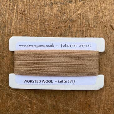2873 Latte - Worsted Wool - Embroidery Thread