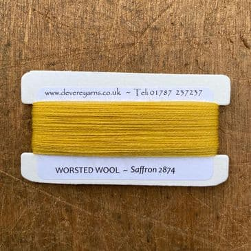 2874 Saffron - Worsted Wool - Embroidery Thread